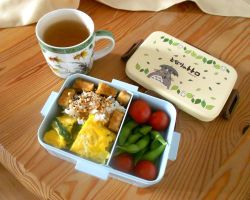 My first Bento Box by Tabascofanatikerin