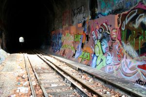 Olympia Tunnels 2 by hyannah77-stock