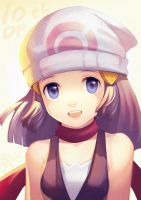 Hikary for Pokemon DP 10th celebration by elyoncat