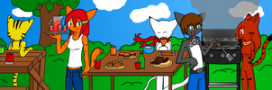 BBQ Party by VedtheFlameDevil
