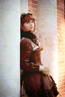 Steampunk Doll - Autumn pt.4 by UselessDevice