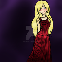 Night To Remember and a lady in red by Hinatagirlie