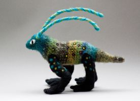 Rudolph the Alebrije 1 by creturfetur