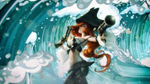MISS FORTUNE WAVE by Binary-Map