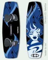 kiteboard 1 - water to ice by starplexus