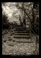 Forest stairs - part 3 by Dwor-kin