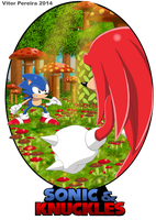 Sonic and Knuckles by ShadowBito