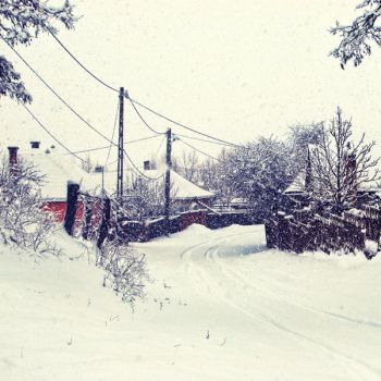 snoWfall in the vIllage by gottheedesign