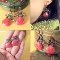 Pagoda Earrings by popnicute