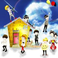 Super Junior by HimeChrist