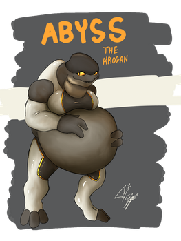 Abyss the Krogan by TheFimp