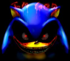 Im god sonic.exe by GBlastMan