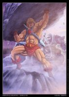 He man - Musclor - by diabolumberto