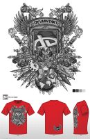 redgrey tshirt logo contest by jml2art