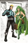 havok and polaris by pheonixtears21