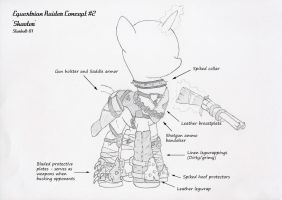 FO:E raider armor concept 'shooter' by Starbolt-81