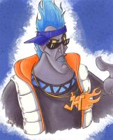Hades goes HipHop XD by KiraSaintclair