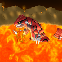 Earth God Groudon by Scheve94