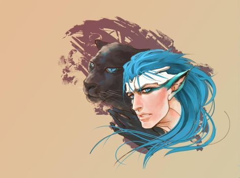 panthers by innevata