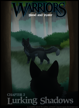 Warriors: Blood and Water - Ch2 - Cover by Raven-Kane