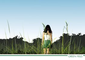 Green field by Auu