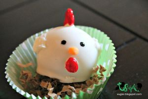 Hen Cake Ball by SugiAi