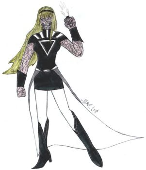 Black Lantern GWEN STACY by batfan20