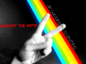 peace love the arts by summerlovesmaverick