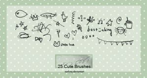 25 Cute brushes by Carlytay