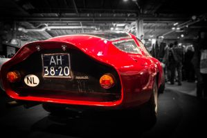 Alfa Giulia TZ - Arriere - Salon Retromobile by julien-sarrazin