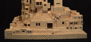 Bob's Toothpick City by Bob Morehead Phase 3 by ToothpickCity