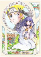 Xmas gift: NaruHina by dragonfly-world