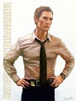 True Detective: Rust Cohle (young) by BanishedPrince
