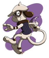 Smeargle Forte Take 2 by forte-girl7