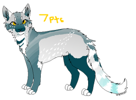 Cat Point adoptable -- Closed -- by TornBlackWolf