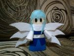 Sariel, Angel of death (felt doll) by minecraftmobs456