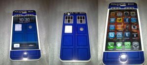 TARDIS IPhone by vanessaisha