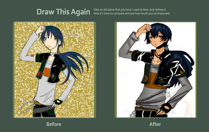 DRAW THIS AGAIN CONTEST - BOYS BOYS BOYS by sakuravaanlonhart