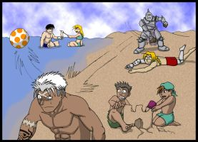 FMA:  Summer Fun by neo-dragon