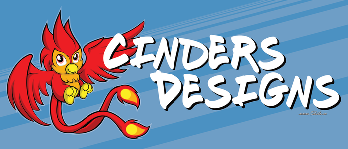 Cinders Designs Banner by ShiloT