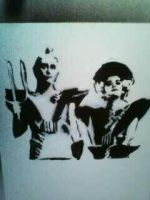 Riff Raff and Magenta Stencil by dawgtag101