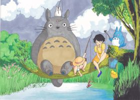 My Neighbor Totoro by Lewis-James