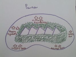 Map of Pana by Spookyx12