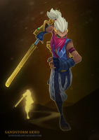 Sandstorm Ekko Beauty by sstrikerr