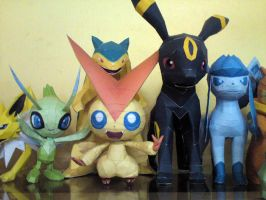 Victini Papercraft 2 by riolushinx