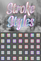 Stroke Styles by ThousandsOfColors