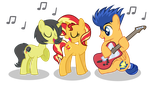 Got The Music In Our Hearts!  by PaulySentry