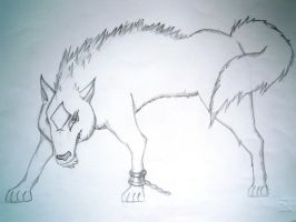 A wolf...I think^^ by lullabyly