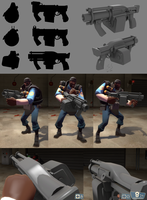 TF2 Sticky Launcher WIP by Elbagast
