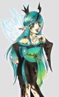:: Queen Chrysalis :: by oliko